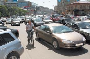 Нелегкая жизнь московского велосипедиста