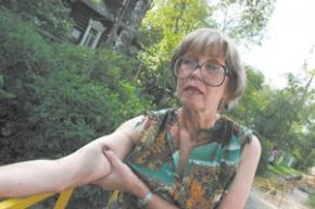 Активистка вышла из милиции с синяками