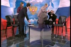 Дебаты с участием Жириновского закончились скандалом (видео)