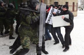 ОМОН тренировался разгонять сторонников Гарри Каспарова