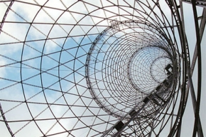 Шуховская башня покрывается ржавчиной