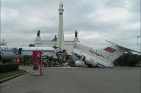 Ту-154 на ВВЦ уничтожен