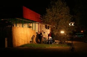 Взрыв в летнем кафе на улице Генерала Белова
