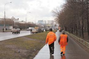 На западе Москвы дворники массово увольняются, опасаясь нападений