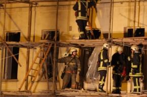ЧП на Арбате: в обрушившемся здании погибли рабочие (фоторепортаж)