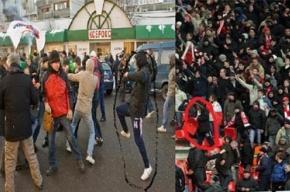 Одни и те же люди нападают на оппозиционеров и устраивают драки на стадионах