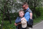 Почему одиноки отцы-одиночки: Фоторепортаж