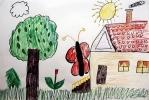 Дети нарисовали Самый Счастливый День: Фоторепортаж