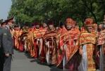 Фоторепортаж: «Патриарх Кирилл отслужил торжественную литургию в Исаакиевском соборе»