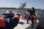 На Неве прошел смотр катеров МЧС: Фоторепортаж