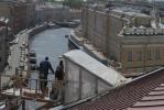 Мансарда дома на Мойке ужасает хранителей культурного наследия: Фоторепортаж
