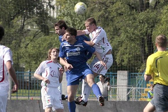 Питерские динамовцы забили два мяча в ворота Нигматуллина: Фото