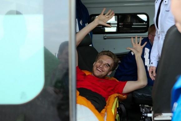 Пострадавшему альпинисту из Петербурга нужна помощь: Фото
