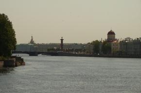 Сегодня в Петербурге жарко