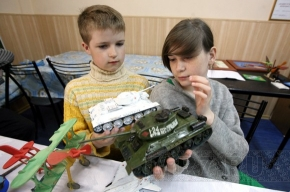 В клубе «Выборгская сторона» - детские танки