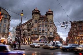 В Петербурге горит здание театра антрепризы имени Миронова