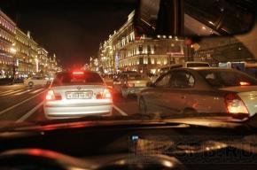 Почему вчера Петербург стоял в пробках?