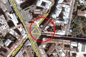 Из-за пожара перекрыта площадь Льва Толстого и прилегающие улицы