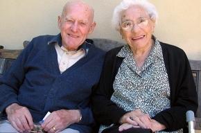 Британская супружеская пара отметила 81-ю годовщину свадьбы