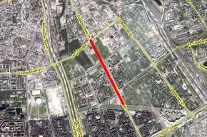 на Бухарестской улице временно не будут ходить трамваи