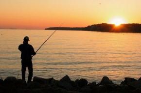Детская рыбалка на озере Монетка