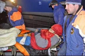 Альпинист Сергей Александров вернулся в Петербург после ампутации ступней