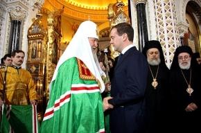 Патриарх Кирилл выступил в Ледовом