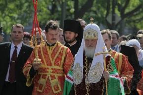 Патриарх Кирилл отслужил торжественную литургию в Исаакиевском соборе