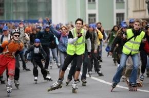 В субботу в Петербурге - пробег роллеров