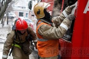 В Петербурге горит НИИ геологоразведки