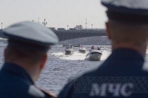 На Неве прошел смотр катеров МЧС