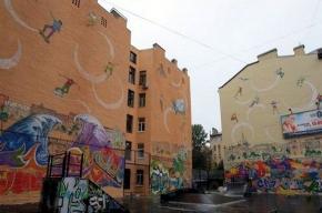 На Петроградке художники разукрасят спортивные площадки