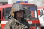 Фоторепортаж: «В Петербурге горел склад древесины»