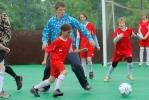 «Футбольный Царь» получил орден в Царской церкви и знак «Святой Татьяны» в детской деревне: Фоторепортаж