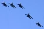 «Стрижи» и «Русские витязи» взмоют в небо над Финским заливом: Фоторепортаж