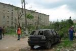 Фоторепортаж: «Торнадо разрушил подмосковный Краснозаводск»