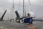 На финиш Volvo Ocean Race истратили 80 миллионов рублей: Фоторепортаж