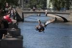 Участники гонки Urban Race пережили в Петербурге массу приключений: Фоторепортаж
