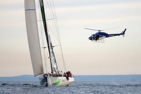 На финиш Volvo Ocean Race истратили 80 миллионов рублей: Фото