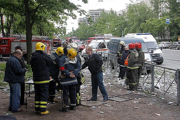Пожар на проспекте Науки - фото с места событий: Фото
