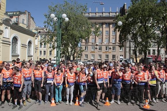 Участники гонки Urban Race пережили в Петербурге массу приключений: Фото