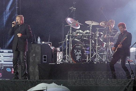 Duran Duran выступили на Дворцовой площади: Фото
