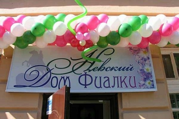 На Мичуринской улице открылся Дом фиалки: Фото