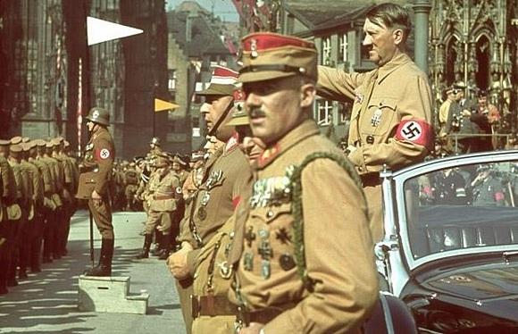 Впервые опубликованы снимки личного фотографа Гитлера: Фото