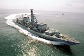 В Петербурге пришвартуется британский фрегат