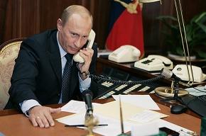 Сегодня Путин - в Петербурге