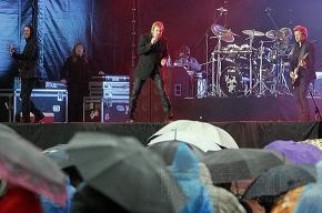 Duran Duran выступили на Дворцовой площади