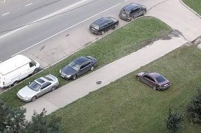 Более 300 петербургских газонов превратят в парковки