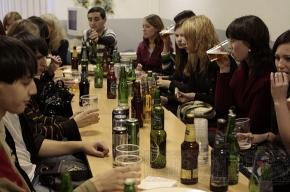 Смерть каждого четвертого россиянина - от алкоголя