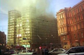 Театр имени Миронова пострадал от воды, а не от огня